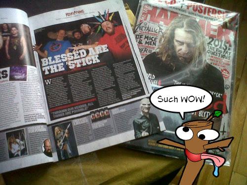 Psychostick in Metal Hammer Magazine!